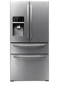 Front view of Samsung fridge
